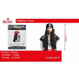 Peluca de pirata