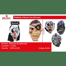 Mascara de halloween
