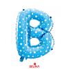 Globo Letra B Azul 16 Pulgadas