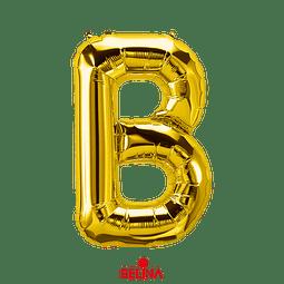 Globo Letra B Oro 30 Pulgadas