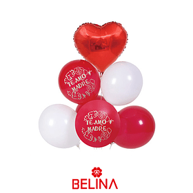 Set de globos dia de la madre 7pcs