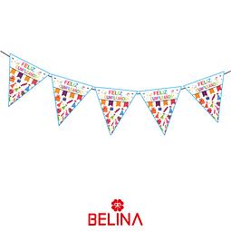 Banderín feliz cumpleaños 5M