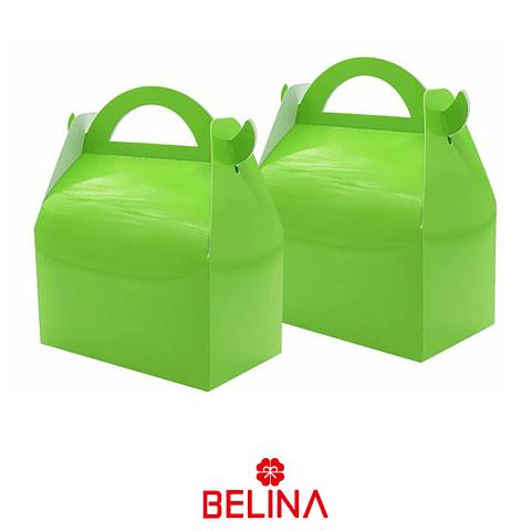 Caja De Tarta Verde 3pcs 16x9x19cm