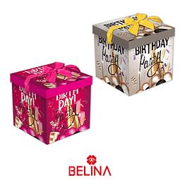 Caja De Regalo Cumpleaños 25 Cm