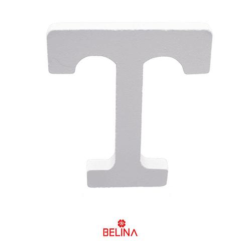 Letra de madera T