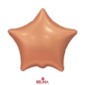 Globo estrella bronce