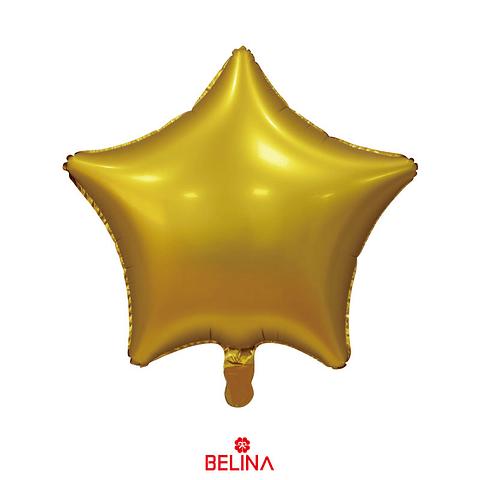 Globo Estrella Oro 45cm