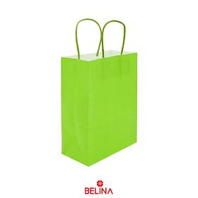 Bolsa de papel grande verde