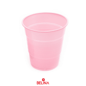 Vaso plastico 300cc rosado
