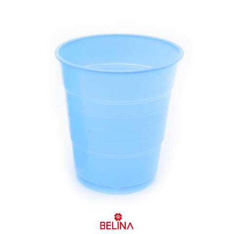 Vaso plastico 300cc celeste