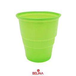Vaso plastico 300cc verde