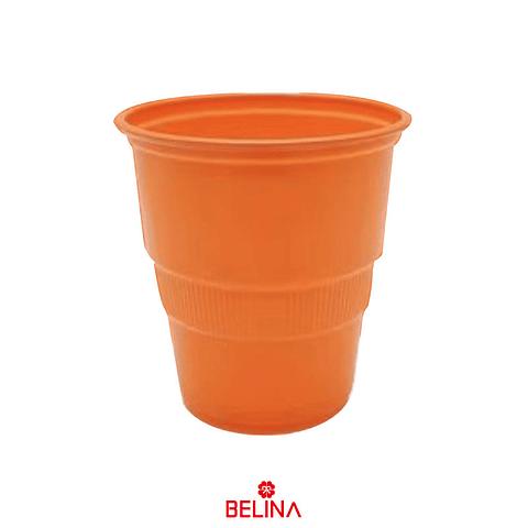 Vaso Plastico 300cc Naranja