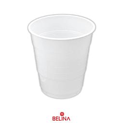 Vaso plastico 300cc blanco