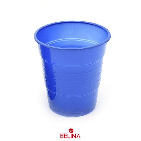 Vaso Plastico 410cc Azul 10pcs