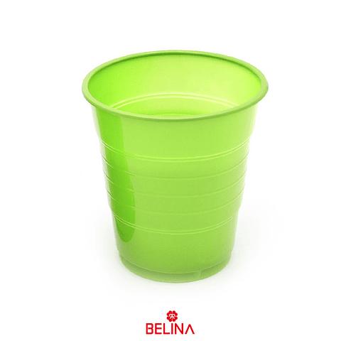 Vaso plastico 410cc verde