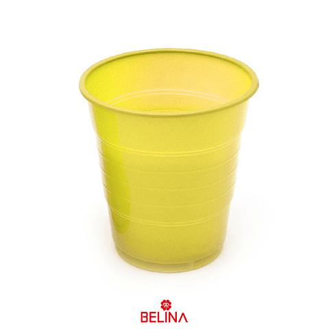 Vaso Plastico 410cc Amarillo 10pcs