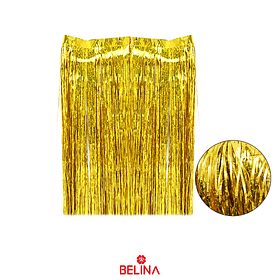 Cortina para mesa oro tornasol 30x50cm 3pcs