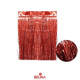 Cortina Para Mesa Color Rojo Holografico 3pcs 30x50cm