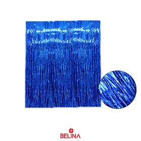 Cortinas Metalizadas Color Azul 30x50cm