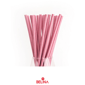Bombillas rosa 25pcs