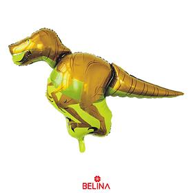 Globo Metalizado Dinosaurio Amarillo