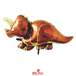 Globo Metalizado Dinosaurio Triceratops