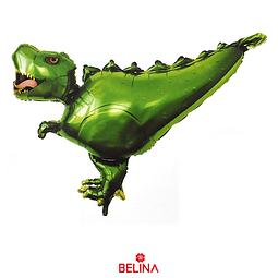 Globo Metalizado Dinosaurio Verde