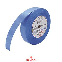 Cinta de regalo azul rollo 1.8cmx50y
