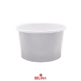 Tazas De Carton Plata 6pcs 8.5x5.7cm