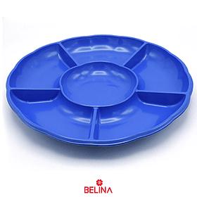 Bandeja Multiple Tiplo Flor Color Azul