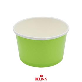 Recipiente De Carton Verde 6 Pcs 8.5 X 5 X 7cm