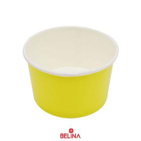 Recipiente De Carton Amarillo 6pcs 8.5 X 5 X 7cm