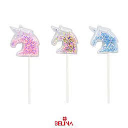 Topper de unicornio 2pcs 13.2cm Color aleatorio