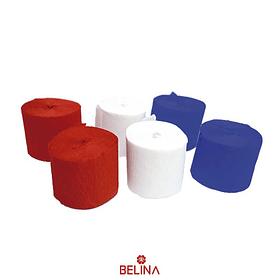 Feston Multicolor Chile 6u 3.5cmx 10mts