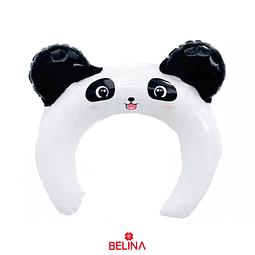 Globo Cintillo Oso Panda 1pcs 28x29cm