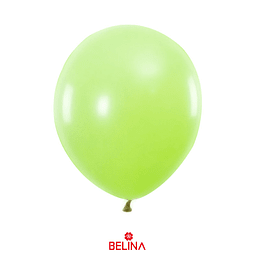 Globos 23cm 12 Ud. Verde Fruta