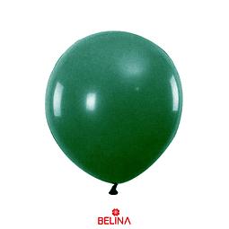 Globos De Látex 50pcs 23cm Verde Oscuro