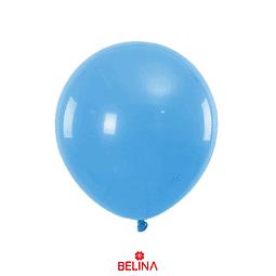 Globos de látex 50 pcs 23cm azul claro