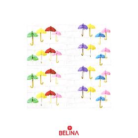 Guirnalda De Papel En Forma De Paraguas 1.2m Color Aleatorio
