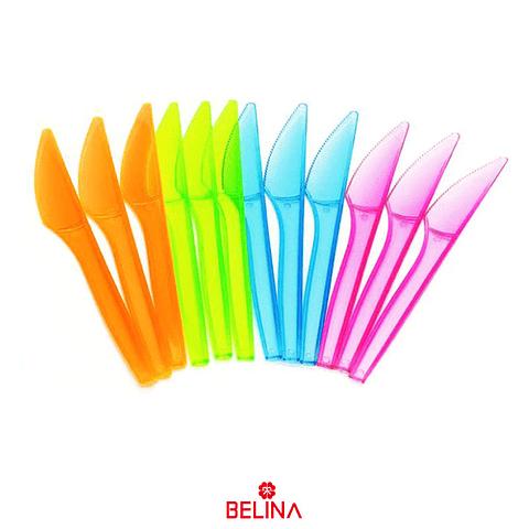 Cuchillos multicolor