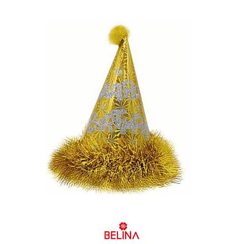 Gorro De Cumpleaños Oro