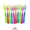 Mini tenedores de colores
