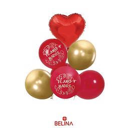 Set de globos del dia de la madre 7pcs