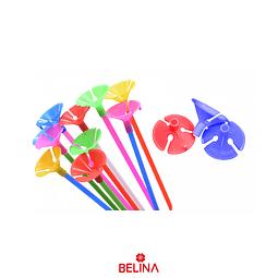 Palitos de globos multicolor