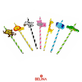 Bombillas de animales 7pcs