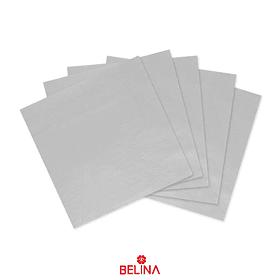 Servilletas de papel blancas 16pcs 33x33cm