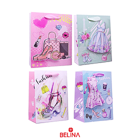 Bolsa de regalo estampado fashion 39x30x12cm
