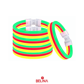 Pulsera luminosa triple 1pc