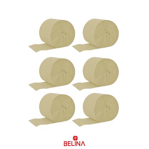 Feston fino beige 6pcs 2.5cmx10m