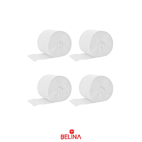 Feston decorativo blanco 4pcs 6cm x 10M